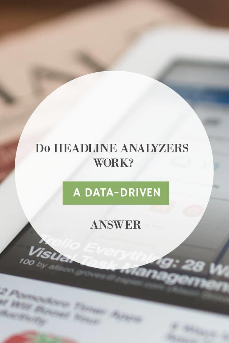 do headline analyzers work?